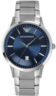 Emporio Armani Unisex Navy Watch