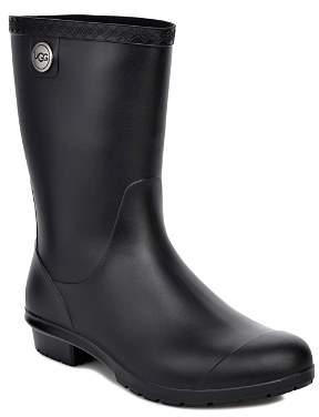UGG Women's Sienna Matte Round Toe Rain Boots