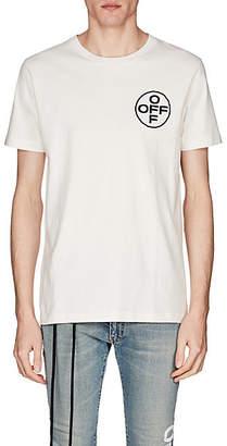 Off-White Off - White c/o Virgil Abloh Men's Cotton Jersey T-Shirt - White
