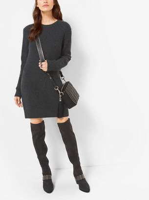 MICHAEL Michael Kors Wool and Cashmere Sweater Dress