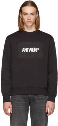 Vier Black Box Logo Sweatshirt