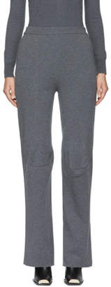 Stella McCartney Grey Wool Knit Trousers