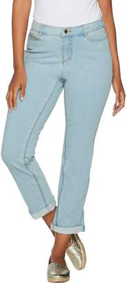 C. Wonder Petite Functional Cuff Ankle Jeans