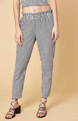 KENDALL + KYLIE Kendall & Kylie Smocked Waist Pants