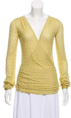 Missoni Ruched Knit Top