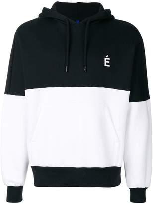 Études color block hoodie