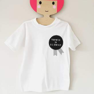 8d6848aff64 Baby Yorke Designs Promoted To Big Brother   Big Sister Motif Tshirt