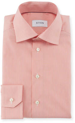 Eton Slim-Fit Bengal-Stripe Dress Shirt