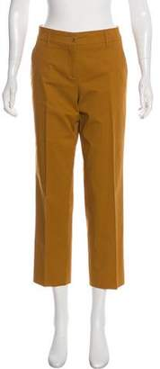 Etro Straight-Leg Mid-Rise Pants