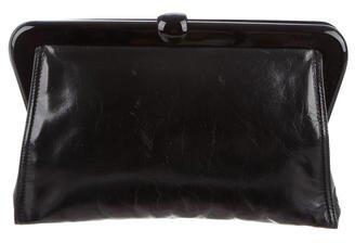Bottega VenetaBottega Veneta Glossy Leather Clutch