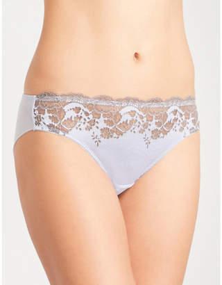 Wacoal Lace affair mesh bikini briefs