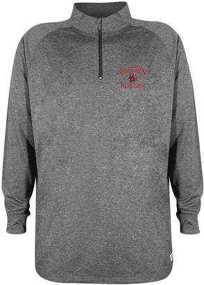 Stitches Men's Boston Red Sox Charcoal Fleece Pullover