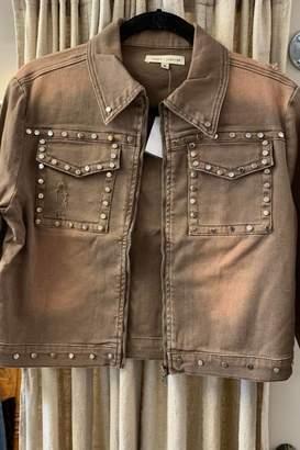 Angel & Premium Cropped Jacket W/rivets