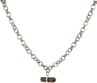 Tiana Jewel Goddess Choker Smokey Quartz Necklace