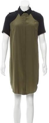Jason Wu Silk Button-Up Dress