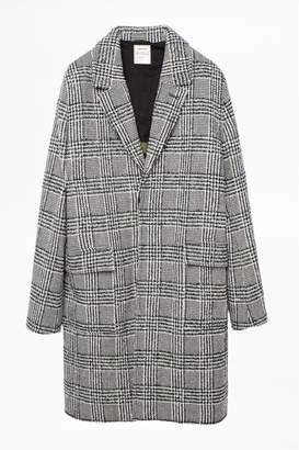 Zadig & Voltaire Morris Check Coat