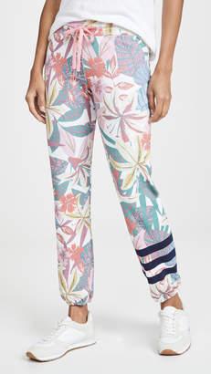 Sundry Stripes Floral Sweats
