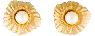 14K Pearl Convertible Stud Earrings