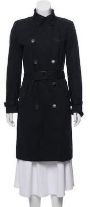 Veronique Branquinho Double-Breasted Trench Coat
