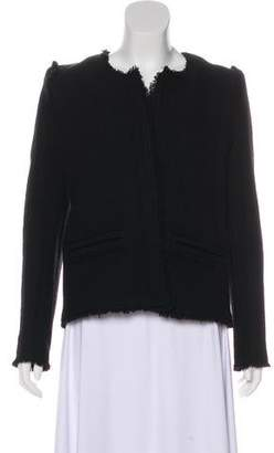 IRO Wool Fringe-Trimmed Jacket