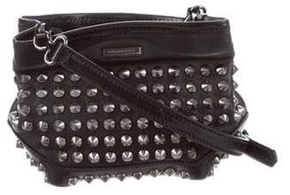 Burberry Studded Leather Small Crossbody w/ Tags