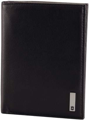 Victorinox Men's Altius 3.0 Grenoble Leather Vertical Bi-Fold Wallet with European Id Window