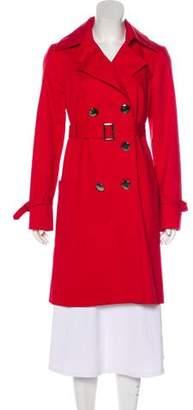 Trina Turk Belted Knee-Length Coat