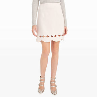 Atrina Scallop Skirt $149.50 thestylecure.com