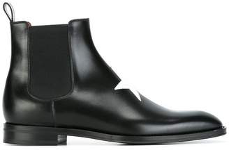 Givenchy star patch ankle boots