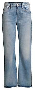 Hudson Jeans Women's Sloane Mid-Rise Straight-Leg Baggy Jeans