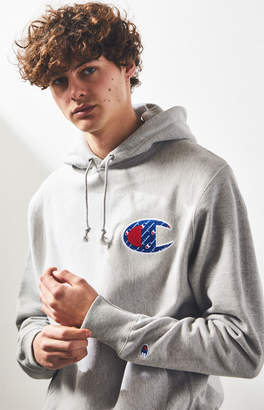 Champion Reverse Weave Sublimated C Pullover Hoodie