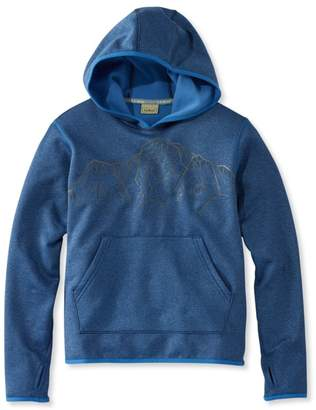 L.L. Bean L.L.Bean Kids' Mountain Fleece Hoodie, Pullover Graphic