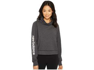 New Balance Funnel Neck Layer Top Women's Sweatshirt