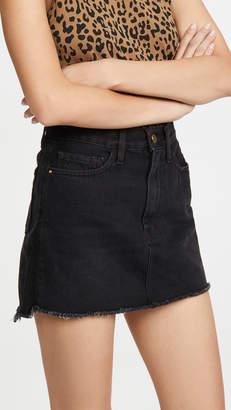Frame Le Mini Skirt Triangle Side Gusset