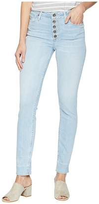 Paige Hoxton Ankle Peg Jeans with Exposed Buttons and Caballo Inseam in Yosemite Women's Jeans
