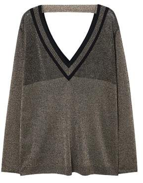 Violeta BY MANGO Metal thread sweater