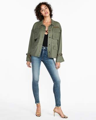 Express Twill Military Jacket