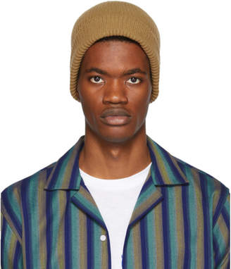 Paul Smith Beige Cashmere Beanie