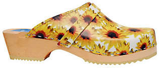 Cape Clogs Sunflowers Style Clogs