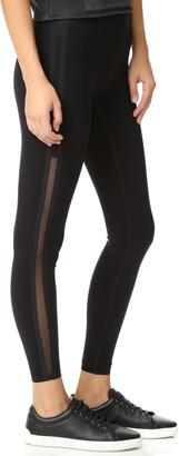 SPANX Every Wear Mesh Side Stripe Leggings $110 thestylecure.com