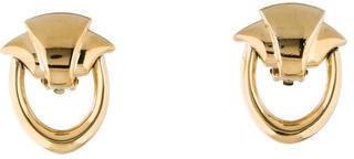 GivenchyGivenchy Doorknocker Clip-On Earrings