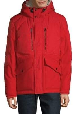 Strellson Faux Fur-Lined Full-Zip Jacket
