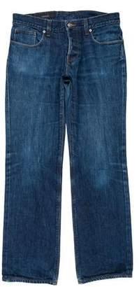 Gucci Twill Straight-Leg Jeans
