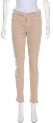 J Brand Mid-Rise Skinny Pants