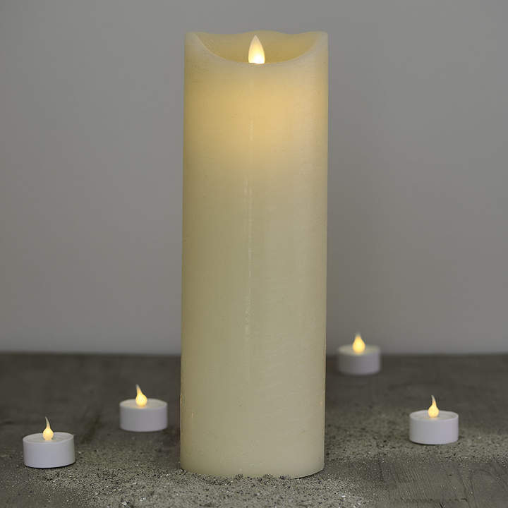 Sirius - Almond Sara Exclusive LED Candle - 30cm