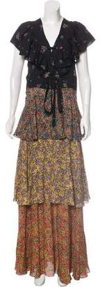 Philosophy di Lorenzo Serafini Printed Maxi Dress
