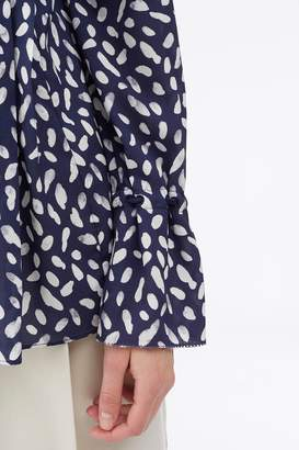 3.1 Phillip Lim Exclusive: Printed Pin-Tucked Shirt