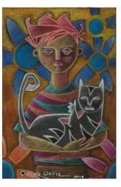 "Trademark Global Oscar Ortiz I Found this Kid and I'm Keeping it Canvas Art - 15.5"" x 21"""