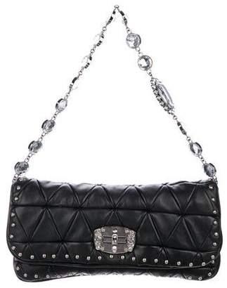 6522d986cd2b Miu Miu Black Clutches - ShopStyle
