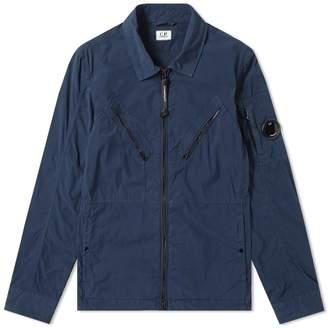 C.P. Company Cotton Nylon Arm Lens Shirt Jacket